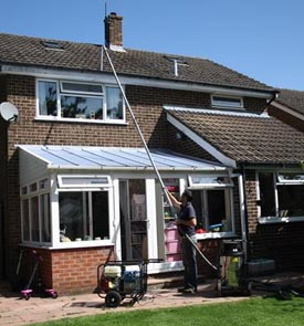 gutter cleaning houses in Tunbridge Wells